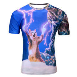 Polyester T Shirt, Size: M