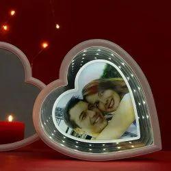 Plastic Sublimation 3D Heart Shape Frame for Decoration