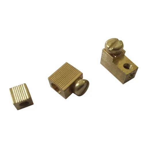 Brass Cut Out Fuse Connector