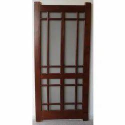Wooden Designer Jali Doors