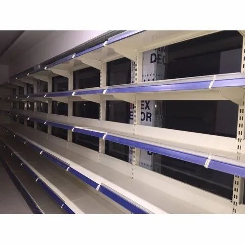 Color Coated Display Rack