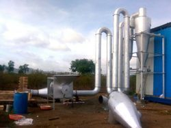 Biomass Briquettes Dryer