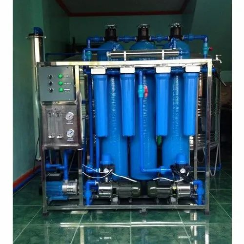 Stainless Steel Ro Water Filtration System 500 1000 Liter Hour Rs 200000 Unit Id 20752101097