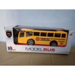 Abs Plastic Remote Control School Bus, Overall Length: 4 - 5 Inches