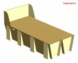 Corrugated Isolation Bed