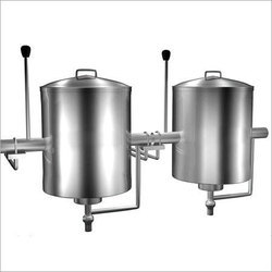 Stainless Steel Industrial Milk Boiler