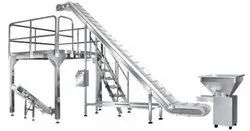 Inclined Bucket Elevator Conveyor