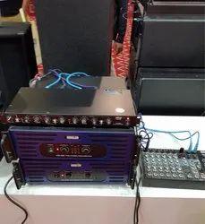 Plastic Ahuja DJ System, Amplifier