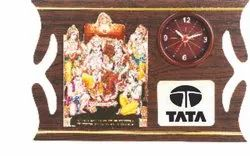 Brown Wood Wall Hanging, For Decoration, Size: 8 X 12