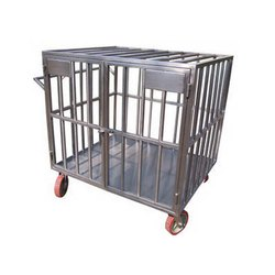 SS Small Cage Trolley