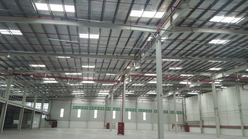 Steel India Warehouse Construction Services, Steel Frame Structures