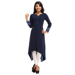 Cottinfab Solid Women's Anarkali Kurta