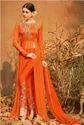 Georgette Printed Suits With Zari Handwork