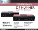 Z-7 Hummer Bluetooth Speaker
