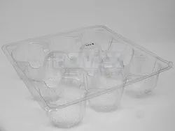 9 Cup Muffin Packing Blister Tray