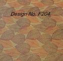 Non Mettalic Printed Fabric F204
