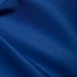Blue Plain Polyester Fabric