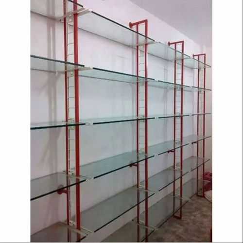 Pleasant Wall Mounted Glass Shelf Home Interior And Landscaping Oversignezvosmurscom