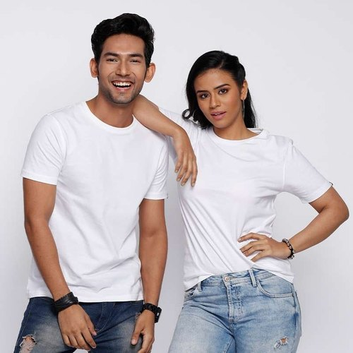 Solids White T-Shirts