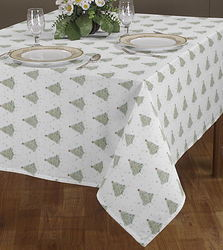 Printed Christmas Table Cloth