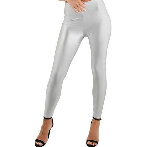 06f970c4b2267 Silver Plain Ladies Silk Legging, Size: Large, Rs 150 /piece | ID ...