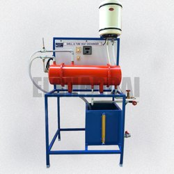 Shell And Tube Heat Exchanger - Heat And Mass Transfer Lab Equipment