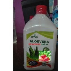 Organic Aloevera Strawberry Juice