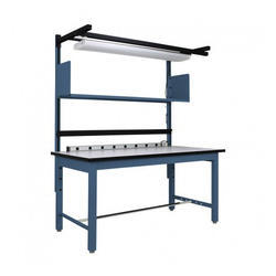 Adjustable assembly table metafold engineering private limited industrial assembly table greentooth Image collections