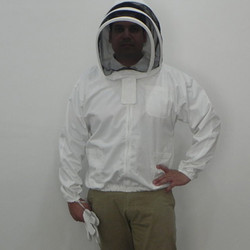 Beekeeping Front Open Fencing Hood Jacket