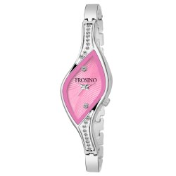 Frosino FRAC101869 Silver Metal Strap Analog Watch