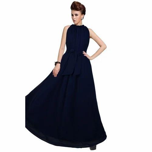 b6b67311aa Women Western Full Length Fancy Party Wear Gown, Rs 549 /piece   ID ...