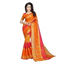 Women's Wear Cotton Silk Anu Fenta Saree