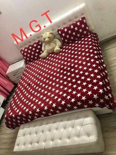 Print Faleno Warm Woolen Bed Sheets