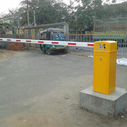 Remote Control Operated Boom Barrier