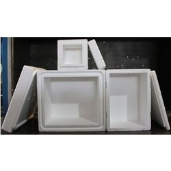 White EPS Thermocol Box, Thickness: 15 - 25 Mm, Capacity: 5-10kg