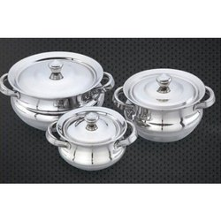 Dakka Stainless Steel Handi Set