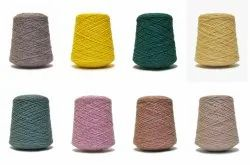 Dyed 2/15s Polyester Viscose Yarn, for Knitting, Weaving