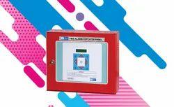 Fire Alarm Repeater Panel For Digitally Addressable Model