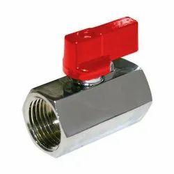 Stainless Steel 1.6~6.4 Mpa Mini Ball Valve