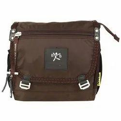 Brown Nylon RKB Elite Shoulder Bag, Weight: 200g, Size: 30x10x29mm