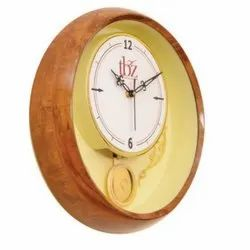 Round Wooden Wall Clocks, Packaging Type: Box