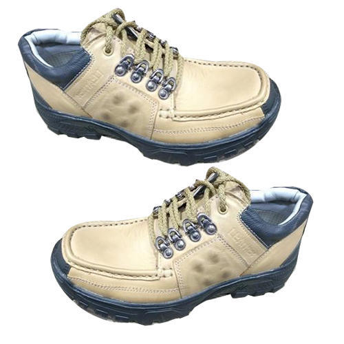 Mens Brown Leather Casual Wear Shoes