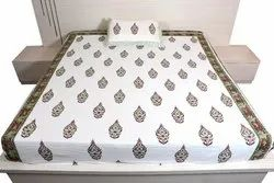 classic printed double bed sheet