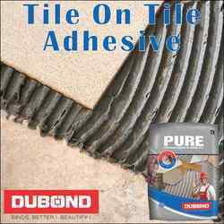 Dubond Pure - Tile On Tile Powder Adhesive