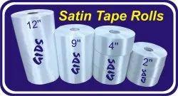 Satin cloth rolls