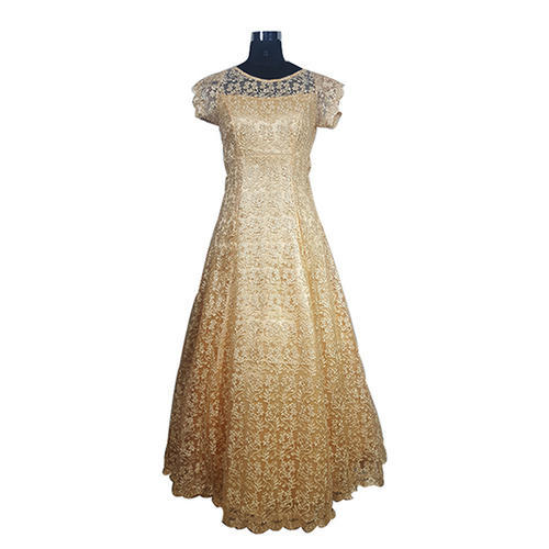 S M Golden Las Creme Color Gowns