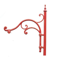 DBR-024 -S Cast Iron Lamp Brackets
