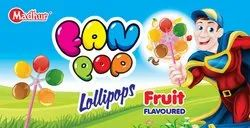 Fan Pop Lollipops - Fruit Flavored