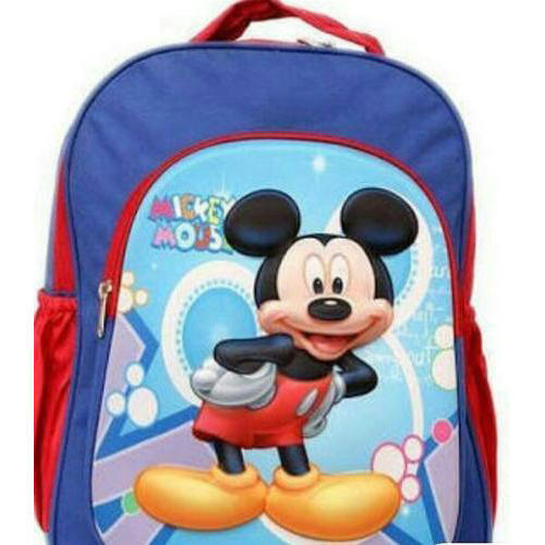 Printed Mickey Mouse School Bag