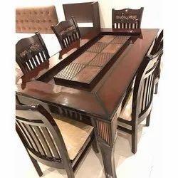 Attari Wooden Designer Dining Table